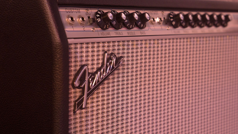 Guitar Amp: Vintage Fender Twin Reverb Combo