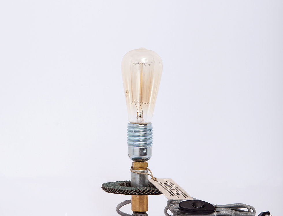 מנורת פלפ גבוהה בסיס ברזל 13*29*13