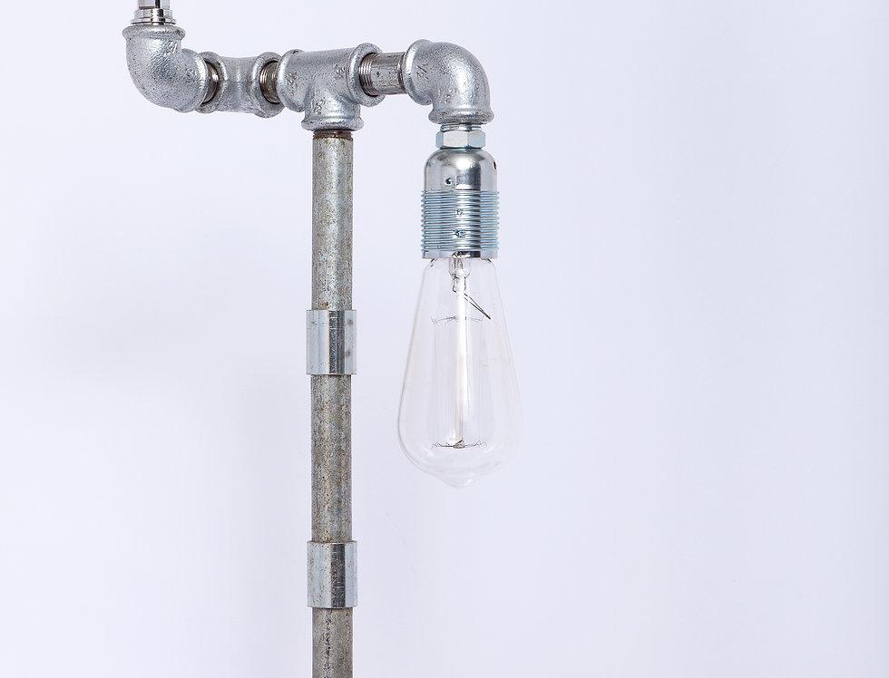מנורת אינסטלציה משולבת ונורת וינטאג' 20*56*20
