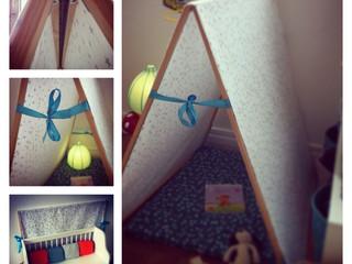 Une tente pour Louis