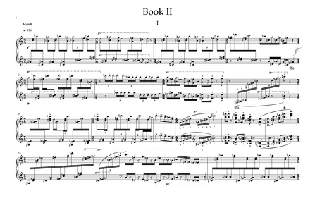Piano Miniatures Book II (2020, 15 minutes)