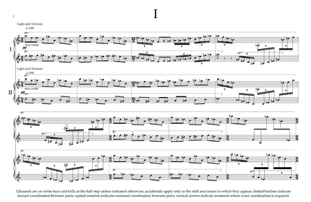 Five Miniatures for Two Pianos (2020, 3 minutes)