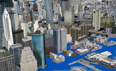 Hurricane Sandy Inundation Map