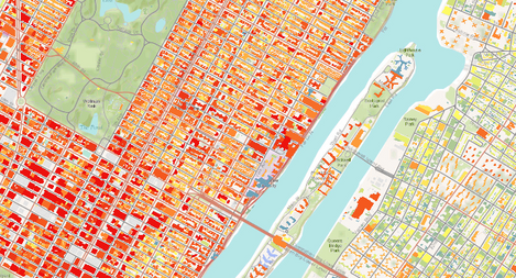 NYC Building Height from Lidar
