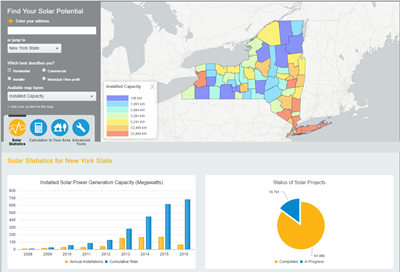 New York Solar Map