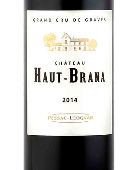 Haut Brana vin