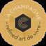 logo La Champagne, Refined Art de Vivre