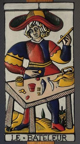 Eléonore Masson-Tarot de Marseille sculp