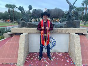 Dream Achiever Omar Cortez Graduates from TAMUK
