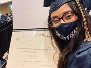 Dream Achiever Katarina Tovar Graduates from ETBU