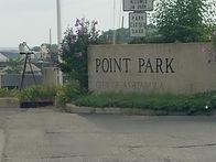 Point Park in the Ashtabula Harbor