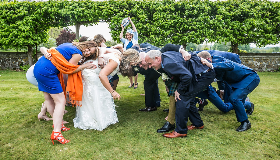 rugby wedding photography