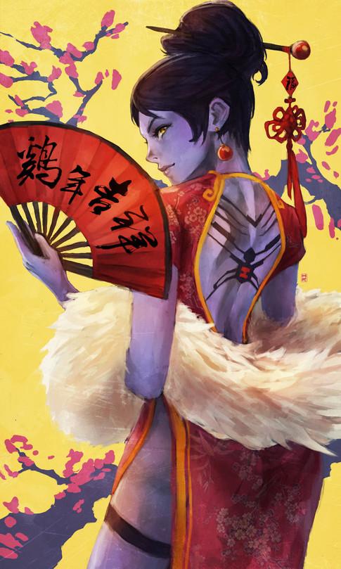 New Years Widowmaker - Monori Rogue