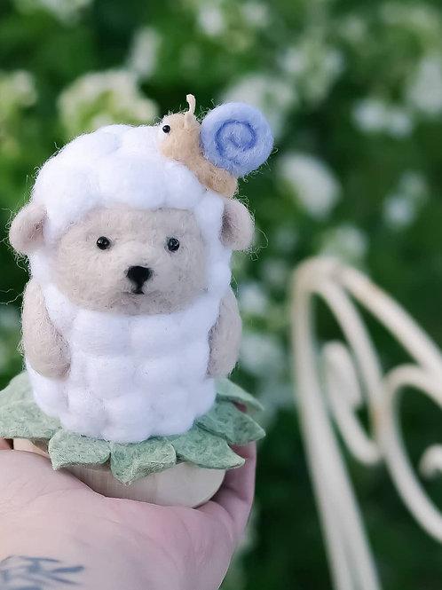 BABY de printemps mouton escargot 🐑🌱🐌