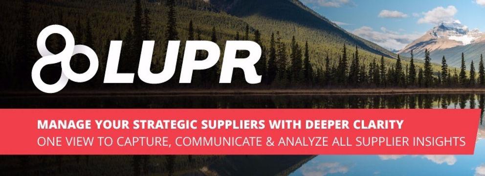 LUPR - SRM based on Salesforce