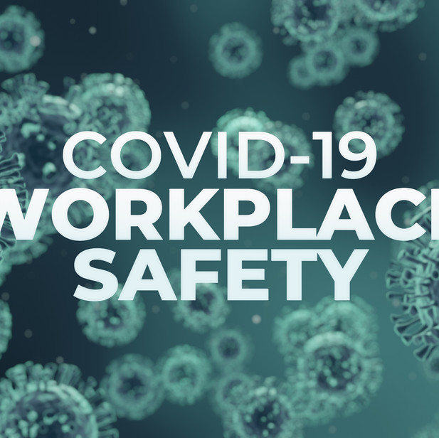 COVID-19 Workplace safety - for stock site