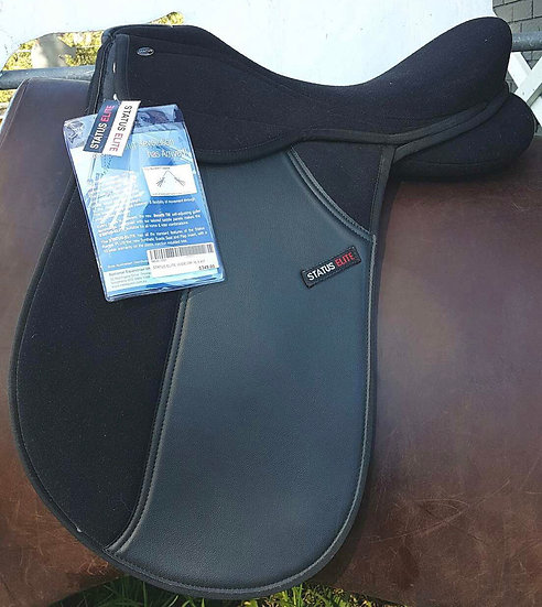 "16.5"" STATUS ELITE WIDE DRESSAGE SADDLE"