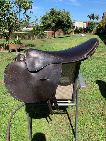 SYD HILL TRACKWORK SADDLE