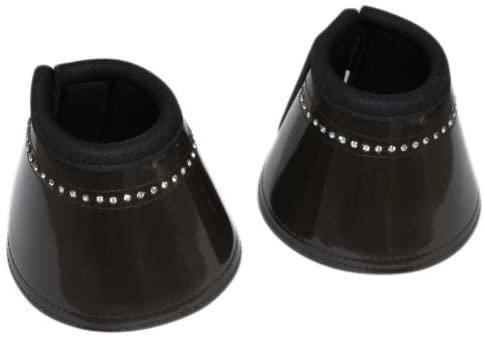 DIAMANTÉ BELL BOOTS  x 2 pairs