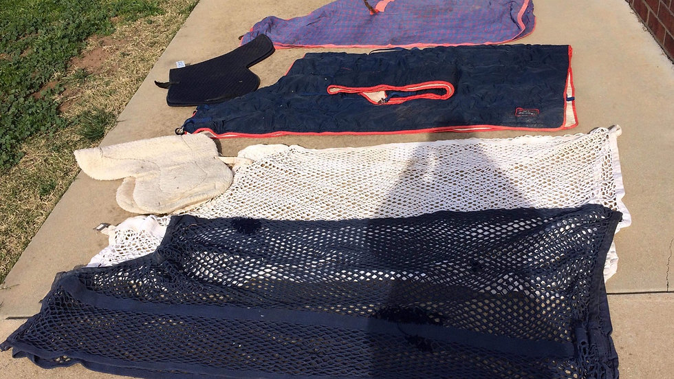 MIXED LOT OF RUGS