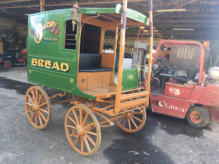 BAKERS CART SHOW CONDITION