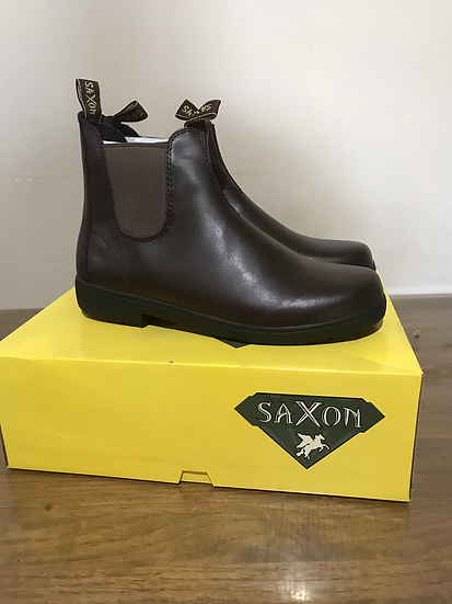 SAXON  LEATHER WORKBOOTS men's 8