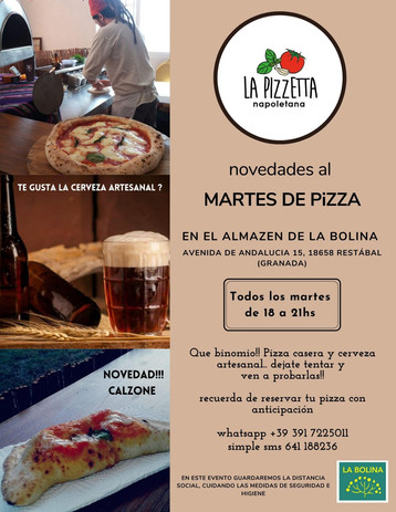 MARTES DE PIZZA