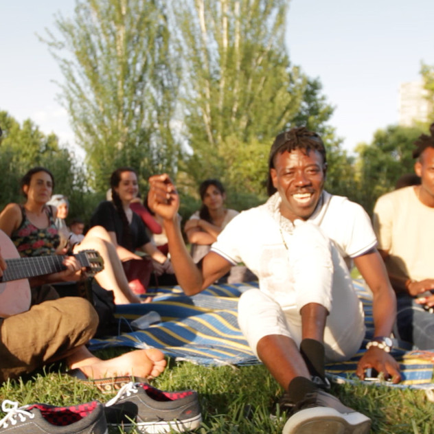 Picnic during the Refugee week in Granada 2018