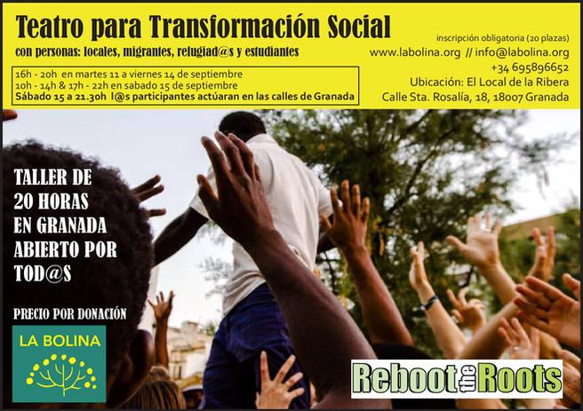 TALLER DE TEATRO PARA DESARROLLO SOCIAL