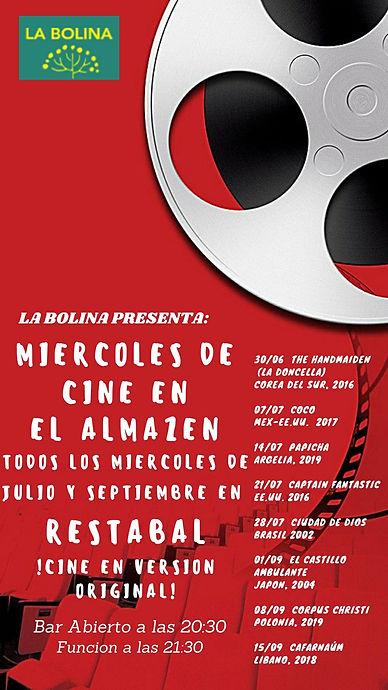 Cine de verano La Bolina