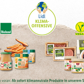 Germany: Lidl is expanding its climate-neutral assortment
