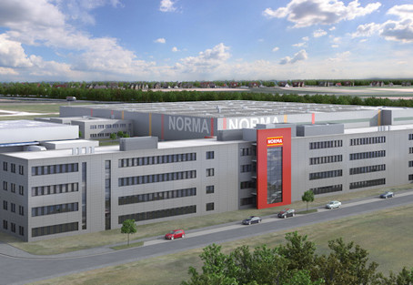 Germany: NORMA continues its expansion course with state-of-the-art cooling warehouse
