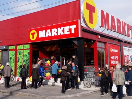 Bulgaria: T-MARKET with a new modern warehouse for refrigerated storage
