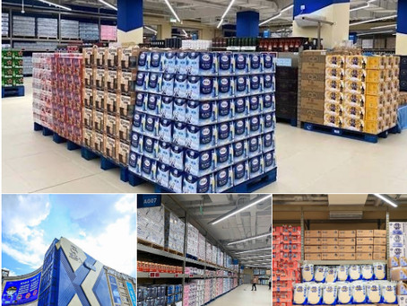 China: Discount warehouse opens