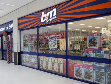 UK: B&M posts strong full year profit uplift