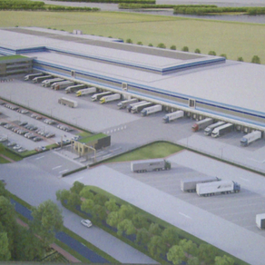 Netherlands: Another large Lidl distribution center