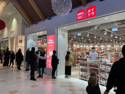 China: Chinese discounter store Miniso is growing by one new store a day