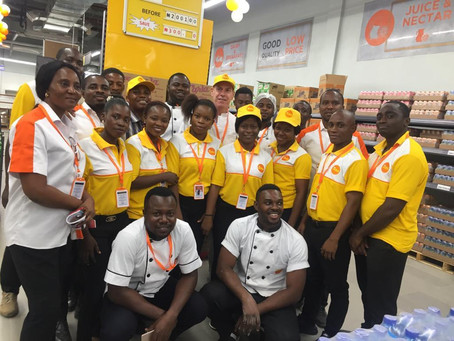 Nigeria: DRC discounter project (JARA) takes over market leader Shoprite