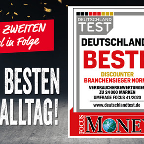 "Germany: NORMA again named ""Best Discounter"""