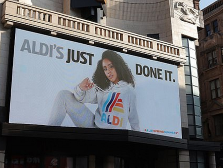 UK: 'Aldi's just done it'; Nike gets competition