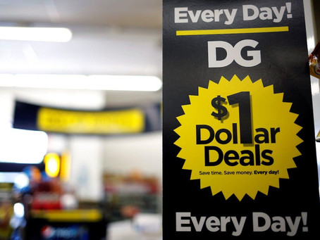 USA: Dollar General's strategy was to go where Walmart wasn't, and it's paid off massively.