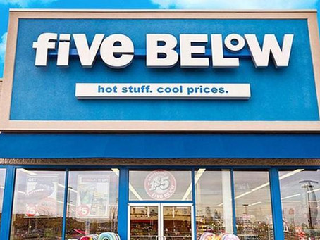 USA: Five Below Q2 earnings more than double; on track to open 170 - 175 stores this year