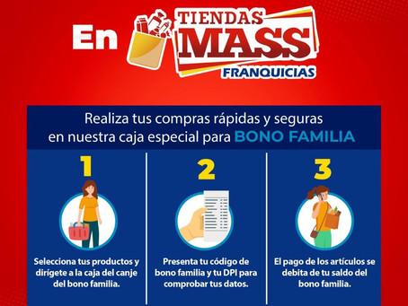 Guatemala: Discount Retail Chain Tiendas Mass Franquicias.