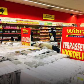Belgium: Non-Food Discounter Wibra stores reopen with a refreshed store concept