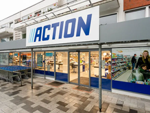 Non-Food Discounter Action offers Click & Collect shopping options