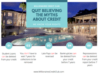 5 Myths about Credit You Should Not Believe