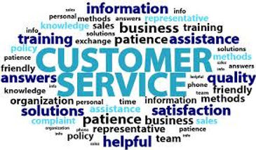 Customer service circle with words.jfif