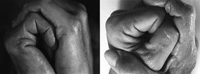 Consuelo Castañeda, Untitled from the series Speed-Split, Hands Diptych