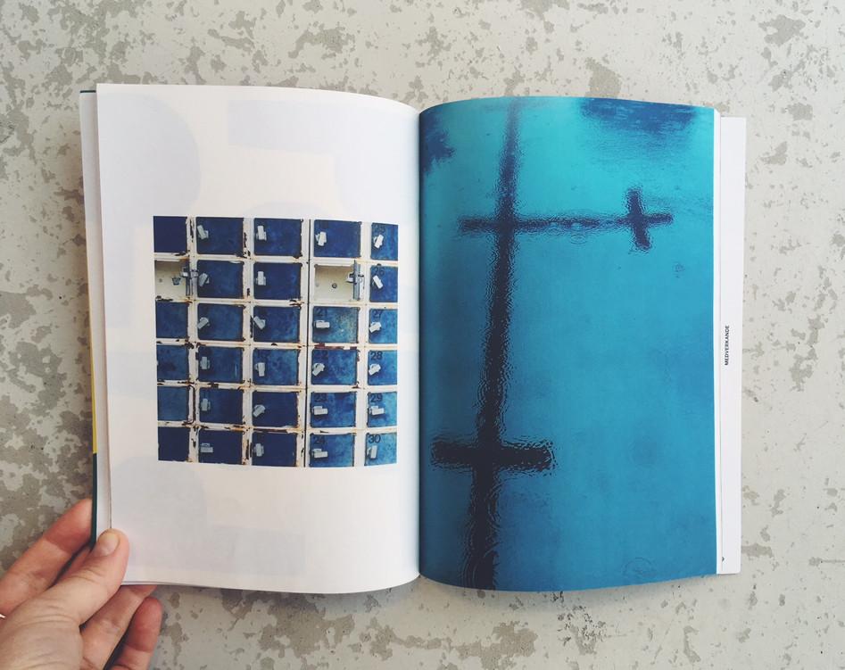 Källbybadet. Images published in literature magazine Ordkonst, 2018:1