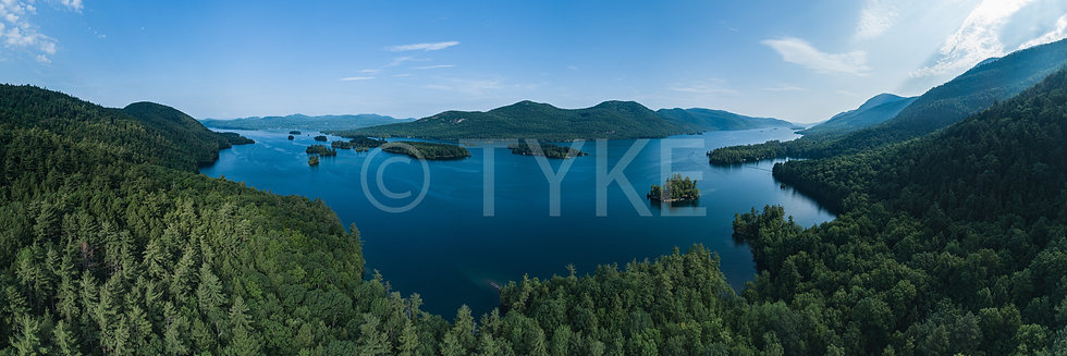 Lake George Narrows Panorama